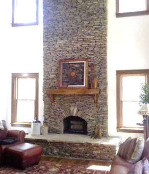 Stone Fireplace Indianapolis | Brick Fireplace Indianapolis